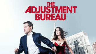 Netflix box art for The Adjustment Bureau