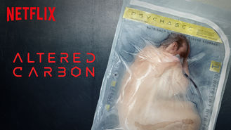 Netflix box art for Altered Carbon - Season 1